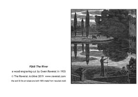 The River greetings card